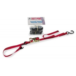 Ancra Integra Rat Pak, 2-Ratchet Tie Downs, Red