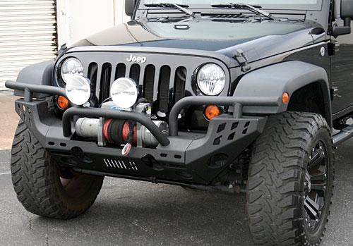 07 15 Jeep Wrangler Jk Aries Heavy Duty Front Bumper