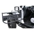 Aries Jeep Wrangler JK Tubular Doors Front Pair, Aluminum '07-'14