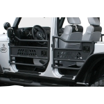 Aries Jeep Wrangler JK Tubular Doors Rear Pair, Aluminum '07-'14
