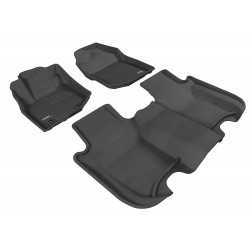 Aries Auto DigitalFit FloorLiner - Dodge Ram 2500/3500 Mega Cab 2012-2015-Black