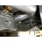 "aFe MACH Force XP Y-Pipe 2/2.5"" Stainless Steel Exhaust System; Jeep Wrangler Unlimited 12-14 V6-3.6L (Manual Trans)"