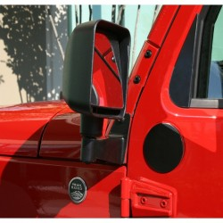 Rugged Ridge Mirror Relocation Kit for Jeep Wrangler JK 2007-2014