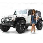 Smittybilt XRC Fenders Flares, set of 4, Jeep Wrangler JK 07-15, 76837