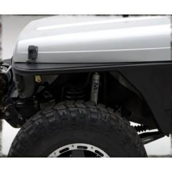 Smittybilt XRC Armor Tube Fenders, Jeep Wrangler TJ 1997-2006, p/n76872