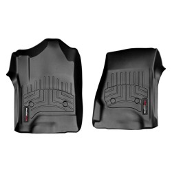 WeatherTech Digital Fit Black Front Floor Mats Liners 2009-14 Ford F-150 446111