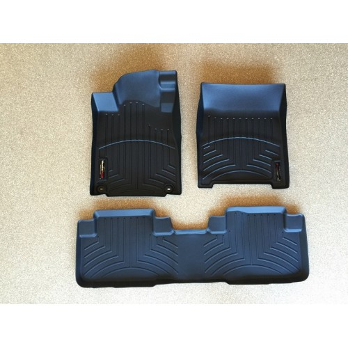 weathertech floor mats floorliner toyota tacoma double. Black Bedroom Furniture Sets. Home Design Ideas