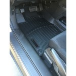 WeatherTech Digital Fit Black Front OTH + Crew Floor Mat 07-13 Chevy Silverado